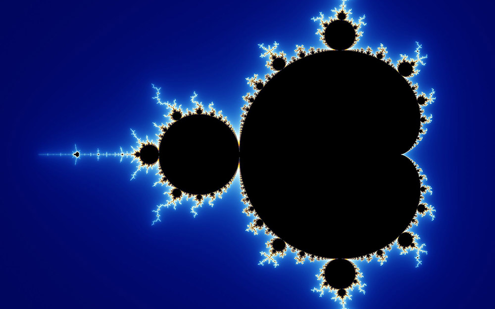 Mandelbrot set. Courtesy Wikipedia.
