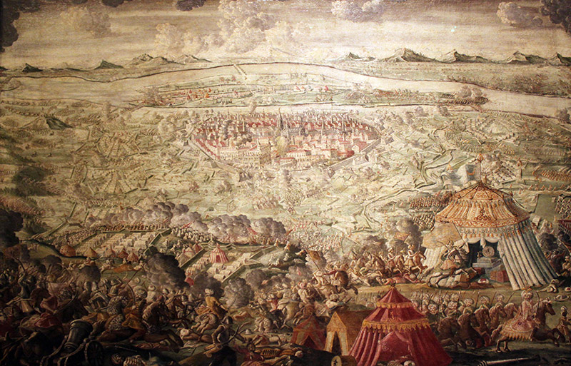 The Battle of Vienna was not a fight between cross and