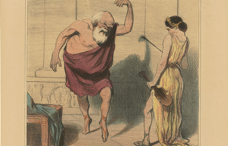 The Ancient Greek rebel leader who saw Socrates solo-dancing